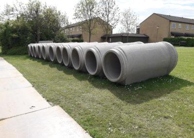 Betonrør til regnvandsledning